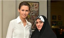 قدردانی همسر اسد